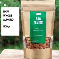 Kacang Almond Mentah USA Grade A 500gr