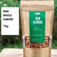 Kacang Almond Mentah USA Grade A 1kg