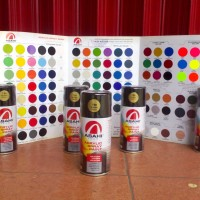 ASAHI ACRYLIC SPRAY PAINT CAT SEMPROT 300cc SUPER GOLD 799 JAPAN TECH
