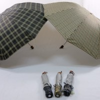 Payung Lipat 3 Korea Kotak-Kotak Fashion BEST No.1-301