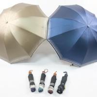 Payung Lipat 3 Korea Lapisan Hitam ANTI UV 100% JUMBO 10 JARI BEST-302