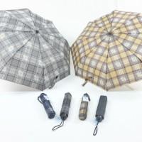 Payung Lipat 3 SKY Kotak Kotak Fancy Fashion-LK10