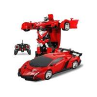 MAINAN MOBIL ROBOT TRANSFORMER REMOTE KONTROL THE LAST KNIGHT 2418