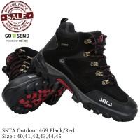 Sepatu Gunung - Sepatu Tracking - Sepatu Outdoor SNTA 469 Full Green