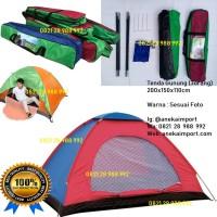 Tenda Kemping Dome, Tenda Lipat, Tenda Camping 3orang, Tenda Gunung