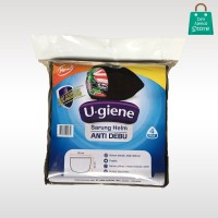 Ugiene Tas / Sarung Helm Anti Debu Non Woven - Hitam