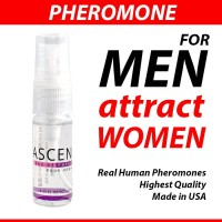 ASCEND Spray Scented Cool Water by PheromoneXS for MEN made in USA