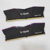 V-GeN Tsunami DDR4 PC25600 3200Mhz Dual 8GB (2x4GB) 16-18-18-36