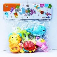 Mainan Bayi Anak Baby Rattle 7in1