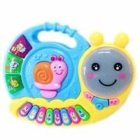 Mainan Bayi Anak Mainan Music Piano Snail