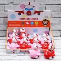 Mainan Putar/Tarik Bayi Anak Hello Kitty Plane