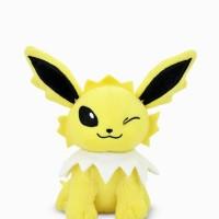 PROMO Boneka Plush Bulu Anak Anime Pokemon GO Jolteon Original Murah