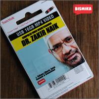 Flashdisk Islami 16 Gb MP4 Zakir Naik