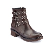 BROWN BOOTH GIRL SHOES NO.5