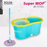 Alat Pel Super Mop BOLDe M-777X+ (Botol + Lubang Drainase) - Asli