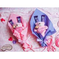 Buket Coklat Valentine