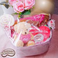 Parsel Valentine Coklat
