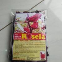 Teh Bunga ROSELLA merah / Teh ROSELA merah / rebus /curah