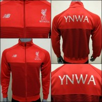 Jaket Official Anthem The Reds Liverpool 2017-2018