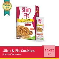 Slim & Fit Cookies Raisin Cinnamon 10x22gr