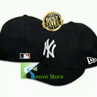 Topi Baseball Built Up MLB NY New York Trucker Snapback RS - A03 4607619cd5