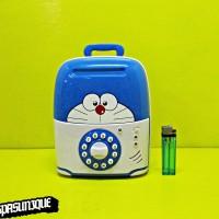 Celengan berangkas Koper Doraemon 6688