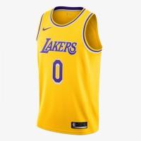 Pakaian Basket Nike Kyle Kuzma Icon Edition Swingman Jersey Yellow Ori