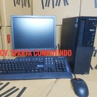 Ready Stok cpu core i5 2400 ram 4 gb hdd 500 lcd 17 in fulset dus