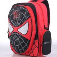 Tas Ransel Backpack Sekolah Anak Spiderman Merah Catenzo CZR 181