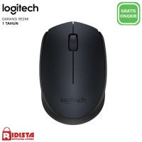Logitech M170 Mouse Wireles Original ( L066 ) Warna Hitam