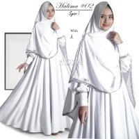 faradila halima syari setelan gamis embos cadar niqab polos tebal ori