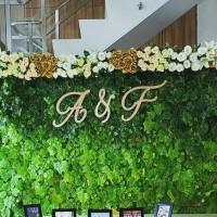 jual huruf inisial wedding / dekorasi lamaran / photobooth