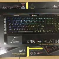 Corsair K95 / K 95 RGB Platinum CherryMX Garansi Resmi DTG 2 Tahun