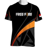 FF-23 Free Fire T-shirt Game