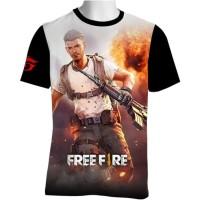FF-22 Free Fire T-shirt Game