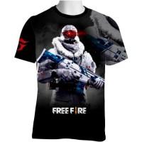FF-18 Free Fire T-shirt Game
