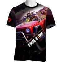 FF-16 Free Fire T-shirt Game