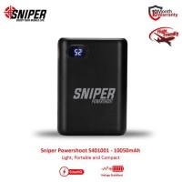 Sniper PowerShoot S401001 - 10050mAh Power Bank - Black