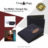 Dompet Api High Quality (fire wallet, Alat sulap, Dompet sulap)