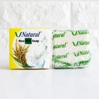 V Natural Rice Soap / Sabun Beras V-Natural