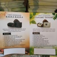 Brosur Duo sabun Kalila dan Tanamu isi 50 lembar