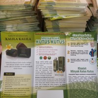 Brosur komplit 4 produk mkk Mtt stt skk dan bubuk tambahan