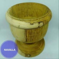 Gelas kayu/ Asbak rokok bahan kayu Albizia saman