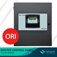 Master Control Panel 10 Zone Notifier Complete With Battery SFP-10UD