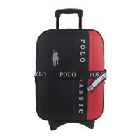 Berkualitas Polo Classic 5418 - Koper 18 inch - Black Red