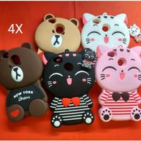 Gress... Case 3D Xiaomi Redmi 4X Karakter Soft Silicon 3D MIMI CAT