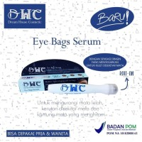 DREAM HOUSE COSMETIK EYE BAG SERUM WITH ROLL ON BPOM