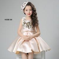 Dress anak perempuan / gaun pesta anak / baju pesta anak murah G8