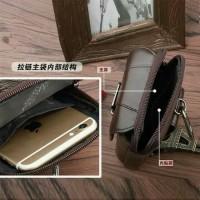 Harga dompet handphone kulit asli 6 inch gesper tas | Pembandingharga.com