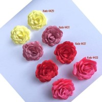 Jual Anting Tusuk Bunga Mawar Cantik Indah Cokelat Jakarta